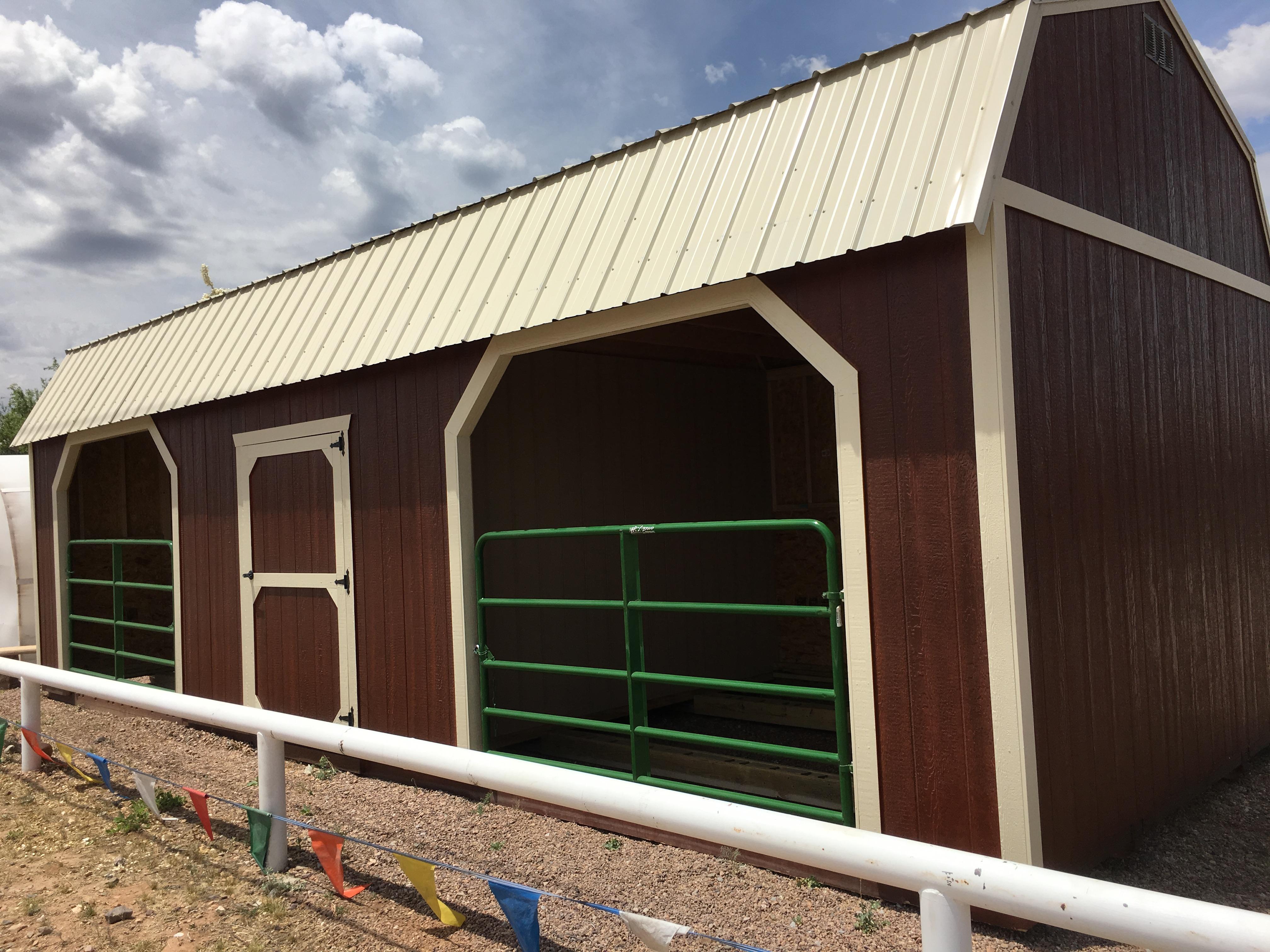 Horse Barns Tucson Sheds